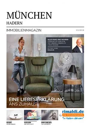 Immobilienmagazin München-Hadern Ausgabe 1/2018
