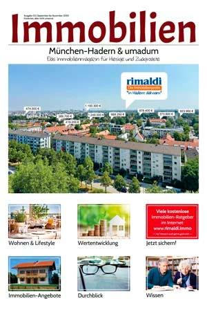 Immobilienmagazin München-Hadern Ausgabe 11 (September bis November 2020)