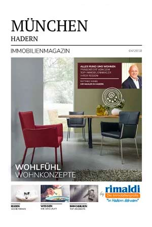 Immobilienmagazin München-Hadern Ausgabe 4/2018