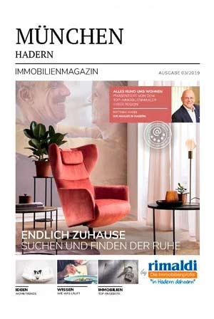 Immobilienmagazin München-Hadern Ausgabe 7/2019