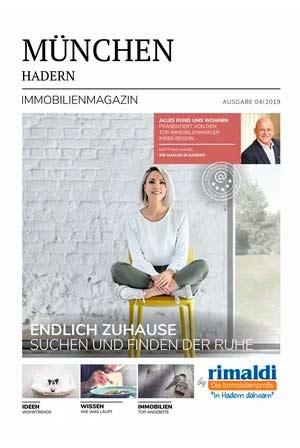 Immobilienmagazin München-Hadern Ausgabe 8/2019